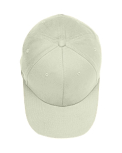 Natural Adult Brushed Twill Cap