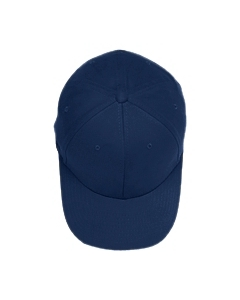 Navy Adult Brushed Twill Cap