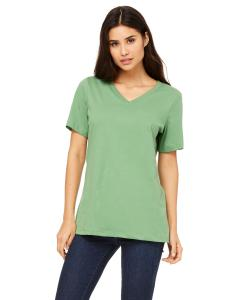 Leaf Missy Jersey Short-Sleeve V-Neck T-Shirt