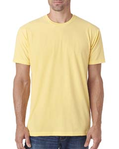 Banana Cream Men's Premium Fitted Sueded Crew