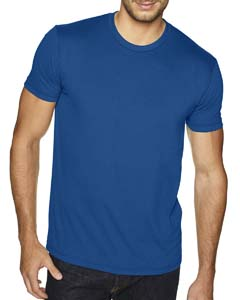 Cool Blue Men's Premium Fitted Sueded Crew