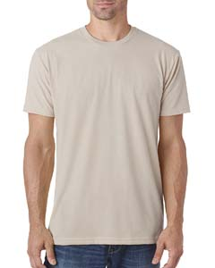 Sand Men's Premium Fitted Sueded Crew
