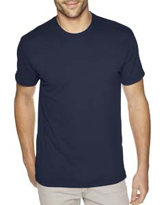 Midnight Navy Men's Premium Fitted Sueded Crew