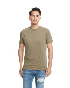 Military Green Men's Sueded Crew