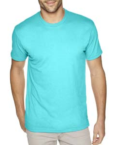Tahiti Blue Men's Premium Fitted Sueded Crew
