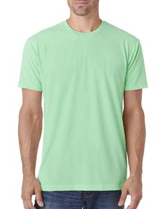 Mint Men's Premium Fitted Sueded Crew