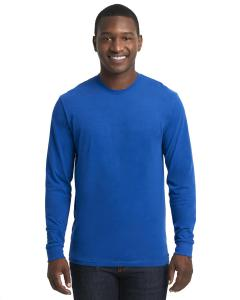 Royal Unisex Sueded Long-Sleeve Crew