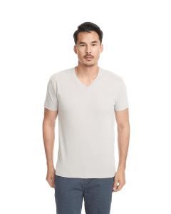 Sand Men's Premium Fitted Sueded V-Neck Tee