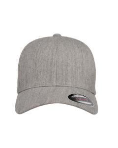 Heather Grey Adult Wool Blend Cap