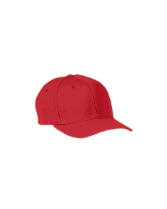 Red Adult Wool Blend Cap