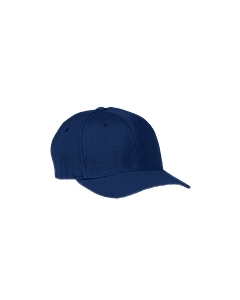 Navy Adult Wool Blend Cap