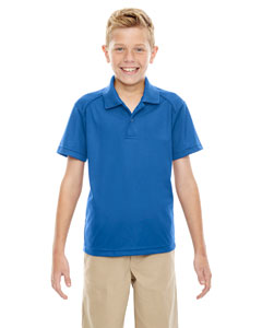 True Royal 438 Eperformance™ Youth Shield Snag Protection Short-Sleeve Polo