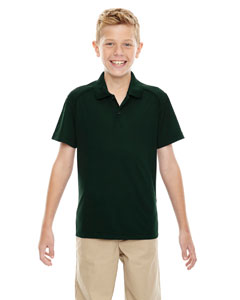 Forest Gren 630 Eperformance™ Youth Shield Snag Protection Short-Sleeve Polo