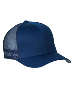 Navy 6-Panel Trucker Cap