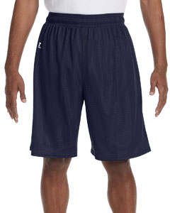 Navy Nylon Tricot Mesh Short