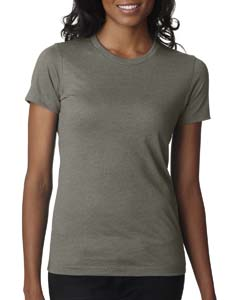 Warm Gray Ladies' CVC Crew Tee