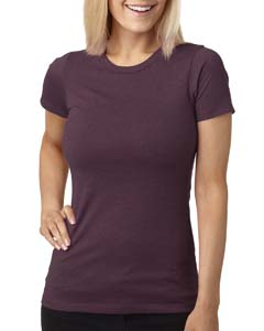 Plum Ladies' CVC Crew Tee
