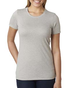 Silk Ladies' CVC Crew Tee