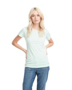 Mint Ladies' CVC Crew Tee