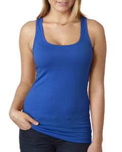Royal Ladies' Spandex Jersey Racerback Tank