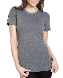 Premium Heather Ladies Triblend Crew
