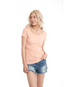 Vin Light Orang Ladies Triblend Scoop Tee