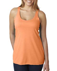 Vin Light Orang Ladies Triblend Racerback Tank