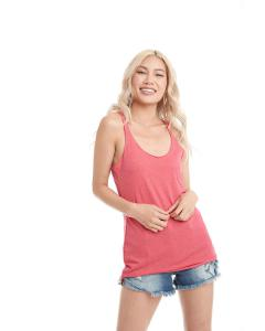 Vintage Red Ladies Triblend Racerback Tank