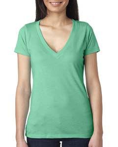 Envy Ladies Triblend Deep-V Tee