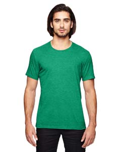Heather Green Adult Triblend T-Shirt