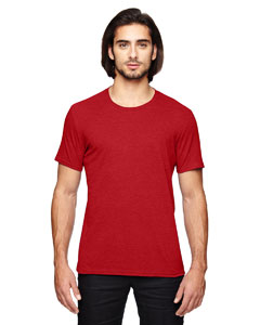Heather Red Adult Triblend T-Shirt