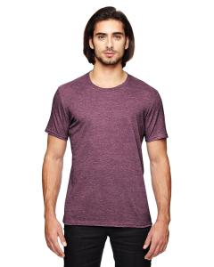 Heather Maroon Adult Triblend T-Shirt