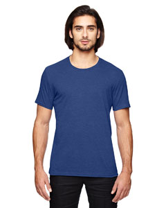 Heather Blue Adult Triblend T-Shirt