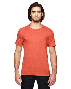 Heather Orange Adult Triblend T-Shirt