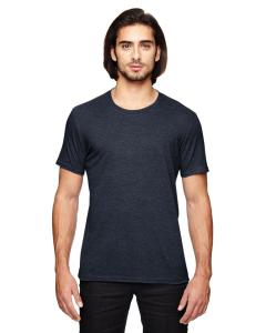 Heather Navy Adult Triblend T-Shirt