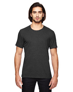 Heather Dk Grey Adult Triblend T-Shirt