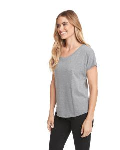 Premium Heather Ladies Triblend Dolman
