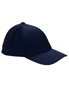 Dark Navy Adult Athletic Mesh Cap