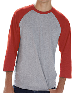Vn Hthr/ Vn Red Men's Baseball T-Shirt