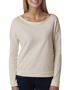Sand Ladies Terry Long-Sleeve Scoop Tee
