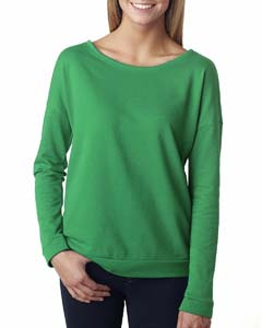 Envy Ladies Terry Long-Sleeve Scoop Tee