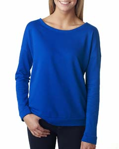 Royal Ladies Terry Long-Sleeve Scoop Tee