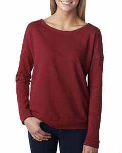 Scarlet Ladies Terry Long-Sleeve Scoop Tee