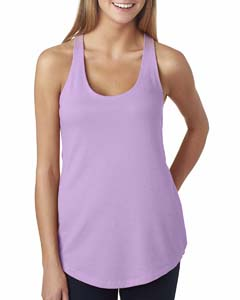 Lilac Ladies' French Terry Racerback Tank