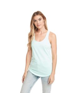 Mint Ladies' French Terry Racerback Tank