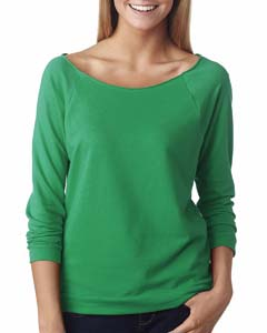 Envy Ladies' French Terry 3/4-Sleeve Raglan
