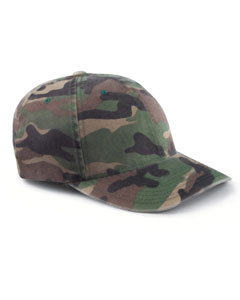 Green Camo Cotton Camouflage Cap