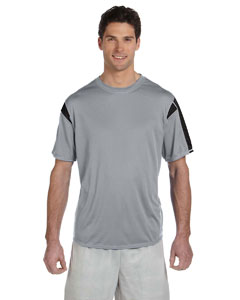 Steel/black Short-Sleeve Performance T-Shirt