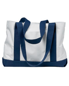 White/navy P & O Cruiser Tote