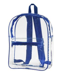 Royal Clear Backpack